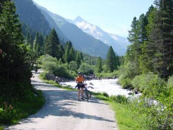 Taurská cyklostezka – Krimmelské vodopády, Kaprun, Zell am See